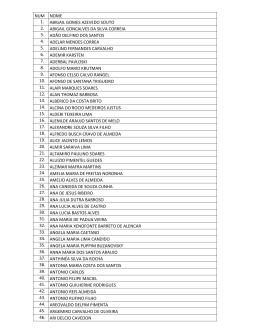 Lista de nomes