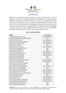 lista intercalar - UF Lampas Terrugem