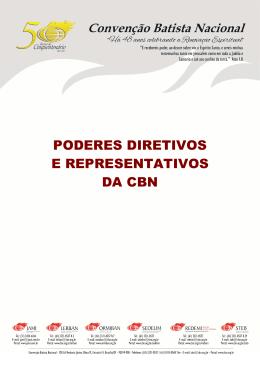 Agenda Poderes Diretivos - Convenção Batista Nacional