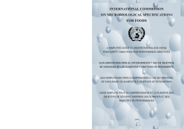 International Commission on Microbiological Specifications for Foods