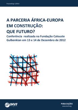 a parceria áfrica-europa em construção: que futuro?