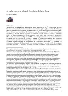 Artigo Mulheres e economia 29.02.12 - CISA