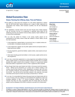 Global Economics View