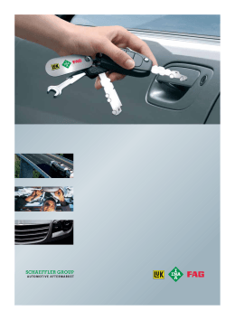 Schaeffler Group: Automotive Aftermarket: Image