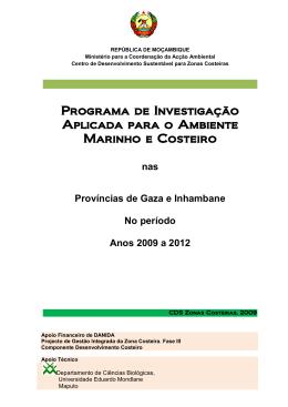 Programa de Investigação Aplicada para o Ambiente