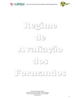 Centro de Formação da Associação de Escolas Bragança
