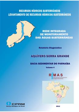 Aquífero Serra Grande, Bacia Sedimentar do Parnaíba.