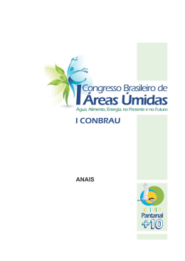 acessar arquivo - Centro de Pesquisa do Pantanal