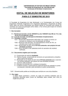 UNIVERSIDADE FEDERAL DE UBERLÂNDIA - FaEnge