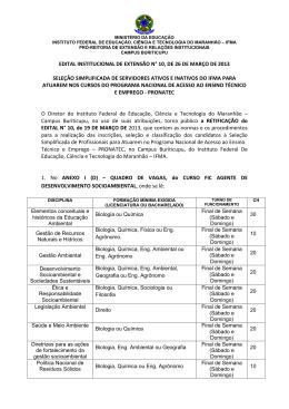edital institucional de extensão n° 10, de 26 de março de 2013