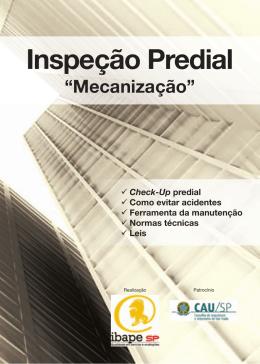 Inspeção Predial: Mecanização