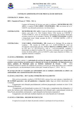 Evolua Ambiental Eng. Consult. Ltda-EPP - T. P. 7-2014