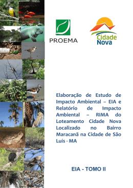 EIA - TOMO II - Prefeitura de São Luís