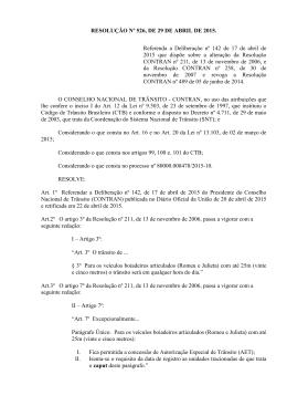 resolução nº 526, de 29 de abril de 2015