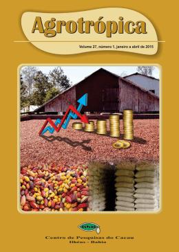 Volume 27, número 1, janeiro a abril de 2015 Volume 25