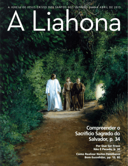 Abril de 2015 A Liahona - The Church of Jesus Christ of Latter