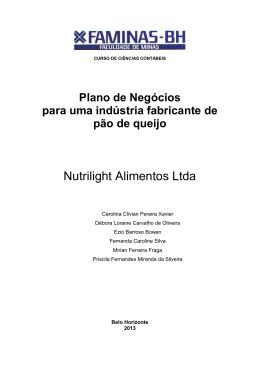 Nutrilight Alimentos Ltda