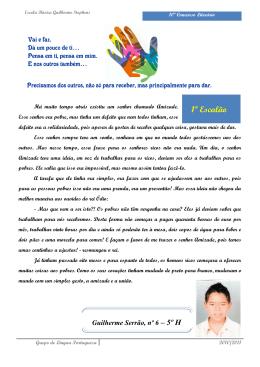 ESCOLA BÁSICA DOS 2º E 3º CICLOS DE GUILHERME STEPHENS