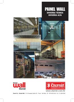 Divisória Wall (divisoria) - Div-Som