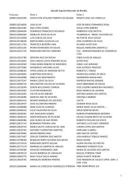EDITAL DE ELIMINAÇÃO DE DOCUMENTOS 26-2015 2
