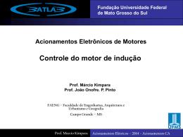 2014 - Controle do motor de Indução