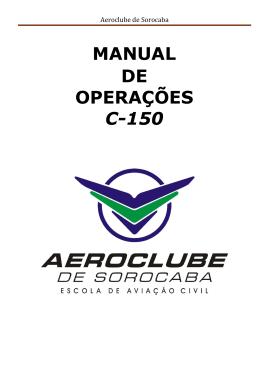 Cessna 150 - Aeroclube de Sorocaba
