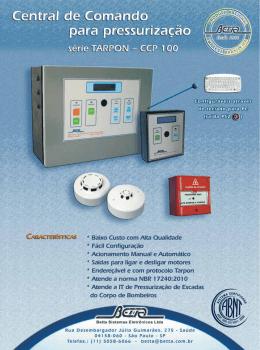 Folheto Central de Pressurização