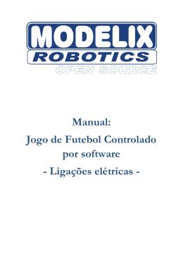 Manual Jogo de Futebol ligações elétricas