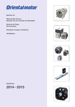 Motores CA - Oriental Motor do Brasil, Ltda.