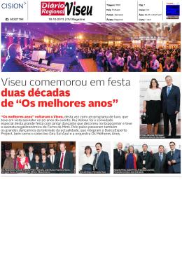 Os melhores anos - Grupo Visabeira