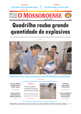Capa O Mossoroense PC - 11-2.qxd - Fora do ar