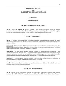 - Clube Hípico de Santo Amaro