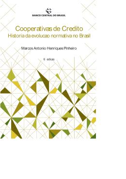 Cooperativas de Crédito - História da evolução