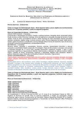 ANEXO 6 – P Todos os Cargos de Administração Geral