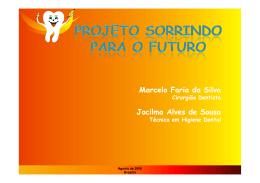 Marcelo Faria da Silva Jocilma Alves de Sousa