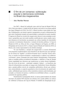 sublevação popular e democracia controlada no Brasil dos