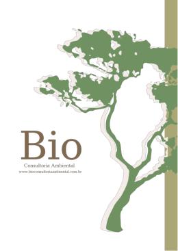Portifólio BIO - Bio Consultoria Ambiental