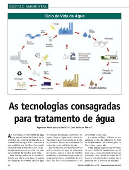 16 - GESTÃO AMBIENTAL - As tecnologias consagradas para