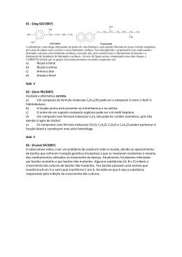 01 - (Ueg GO/2007) - Curso e Colégio Acesso