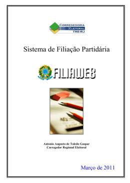 FILIAWEB - TRE-RJ