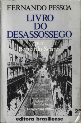 Do Livro do Desassossego