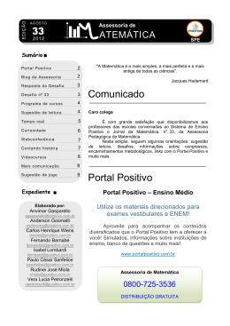 N 33 Jornal da Matematica SPE