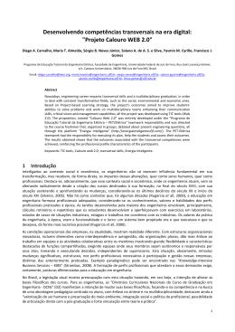 Projeto Calouro WEB 2.0 - Universidade Federal de Juiz de Fora