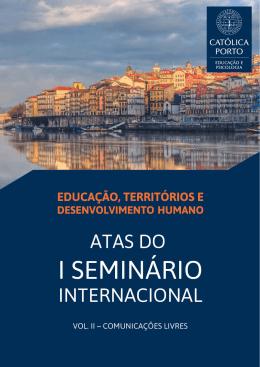 Atas do I Seminário Internacional, Vol. II – Comunicações Livres