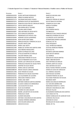 EDITAL DE ELIMINAÇÃO DE DOCUMENTOS 23-2015 2