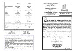 06/12/2015 Nº 48/15 - Igreja Batista Sião