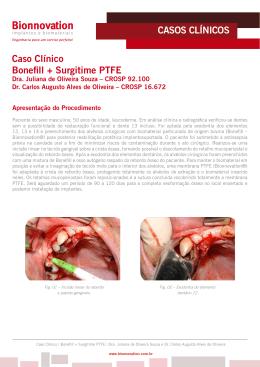 CASOS CLÍNICOS Caso Clínico Bonefill + Surgitime