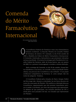 Comenda do Mérito Farmacêutico Internacional
