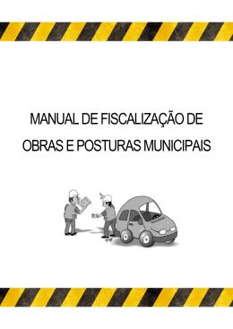 manual de fiscalização de obras e posturas municipais