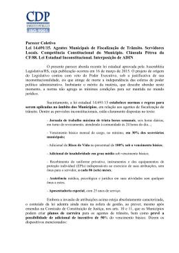 parecer na íntegra - CDP - Consultoria em Direito Público RS